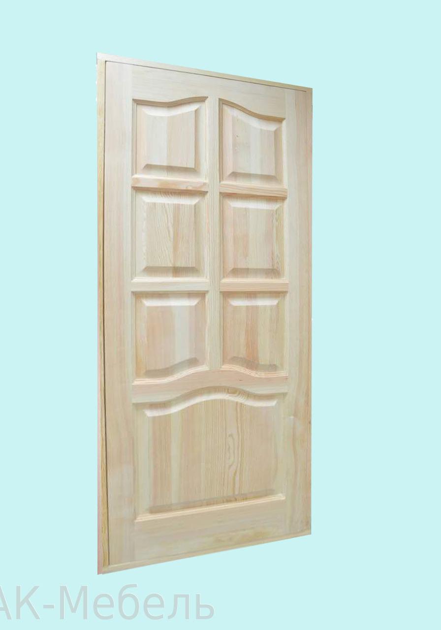 Недорогие двери из массива сосны