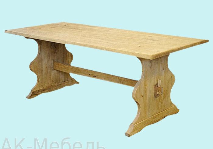 Недорогой стол из сосны