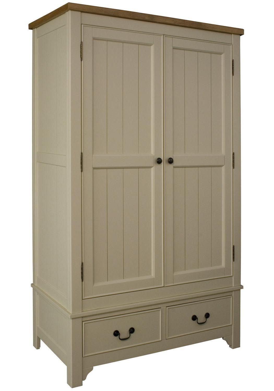 Шкаф МДФ двухдверный для одежды, имеет два ящика