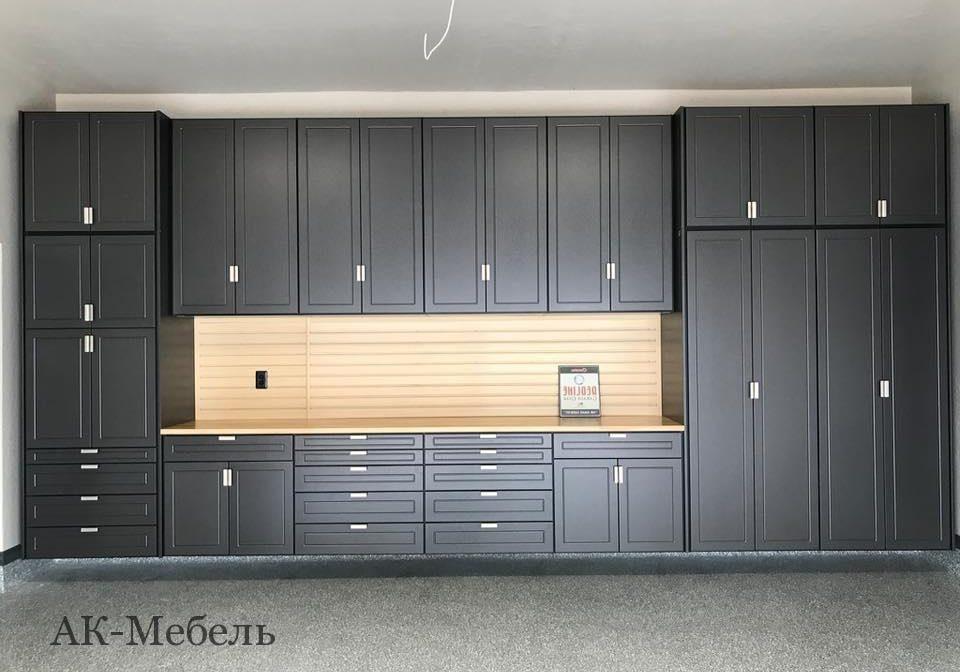 Распашной шкаф МДФ эмаль для гаража