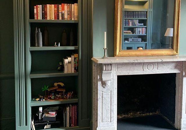 Шкаф для книг крашенный МДФ эмаль на заказ, производство