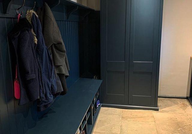 Шкаф МДФ эмаль крашенный в прихожую