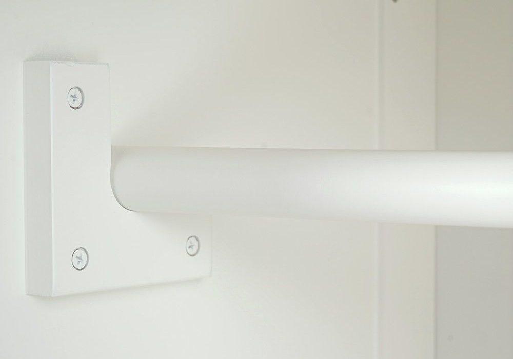 Штанга для одежды шкафа МДФ, мебель серии Венеция