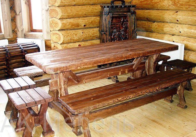 Комплект мебели в сауну и баню