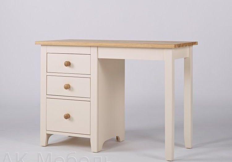 Стол письменный 1 тумб 3 ящика, мебель серии Сапсан