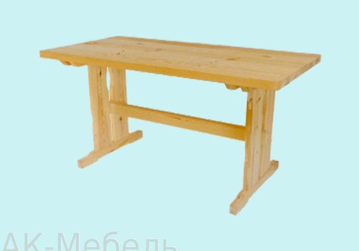 Стол для мебели из массива сосны