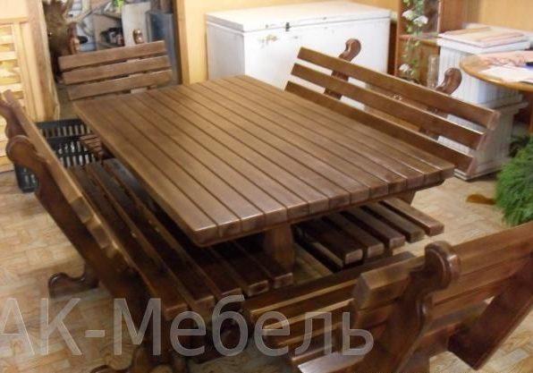 Комплект мебели в баню